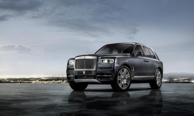 Первый внедорожник Rolls-Royce – Cullinan