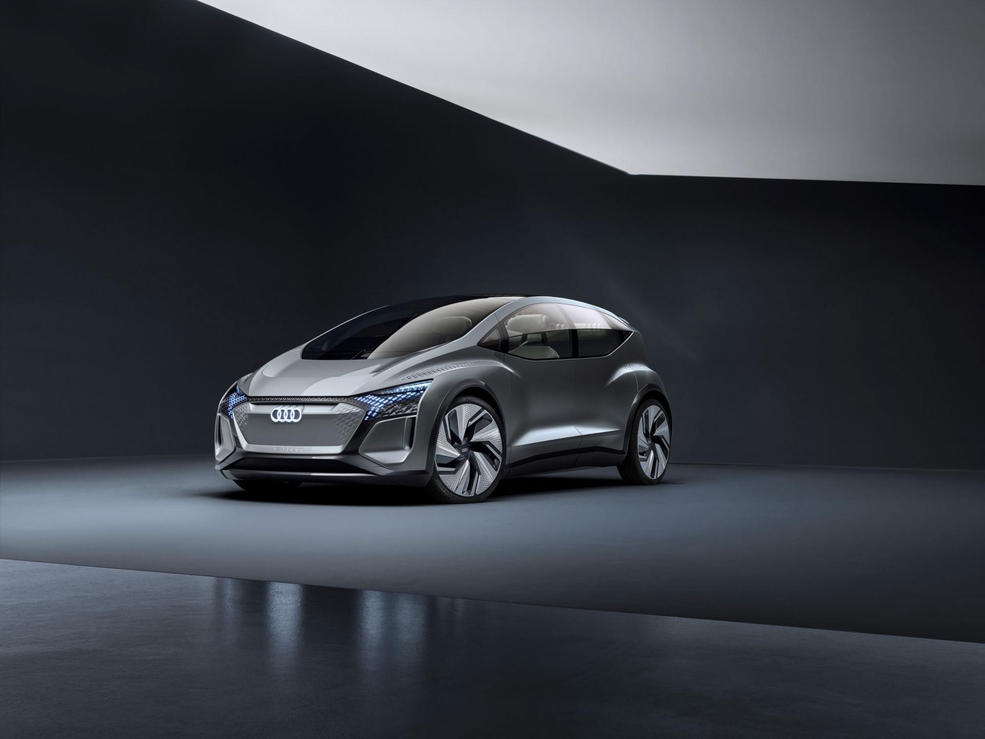 Audi представляет новый коцепт-кар для города