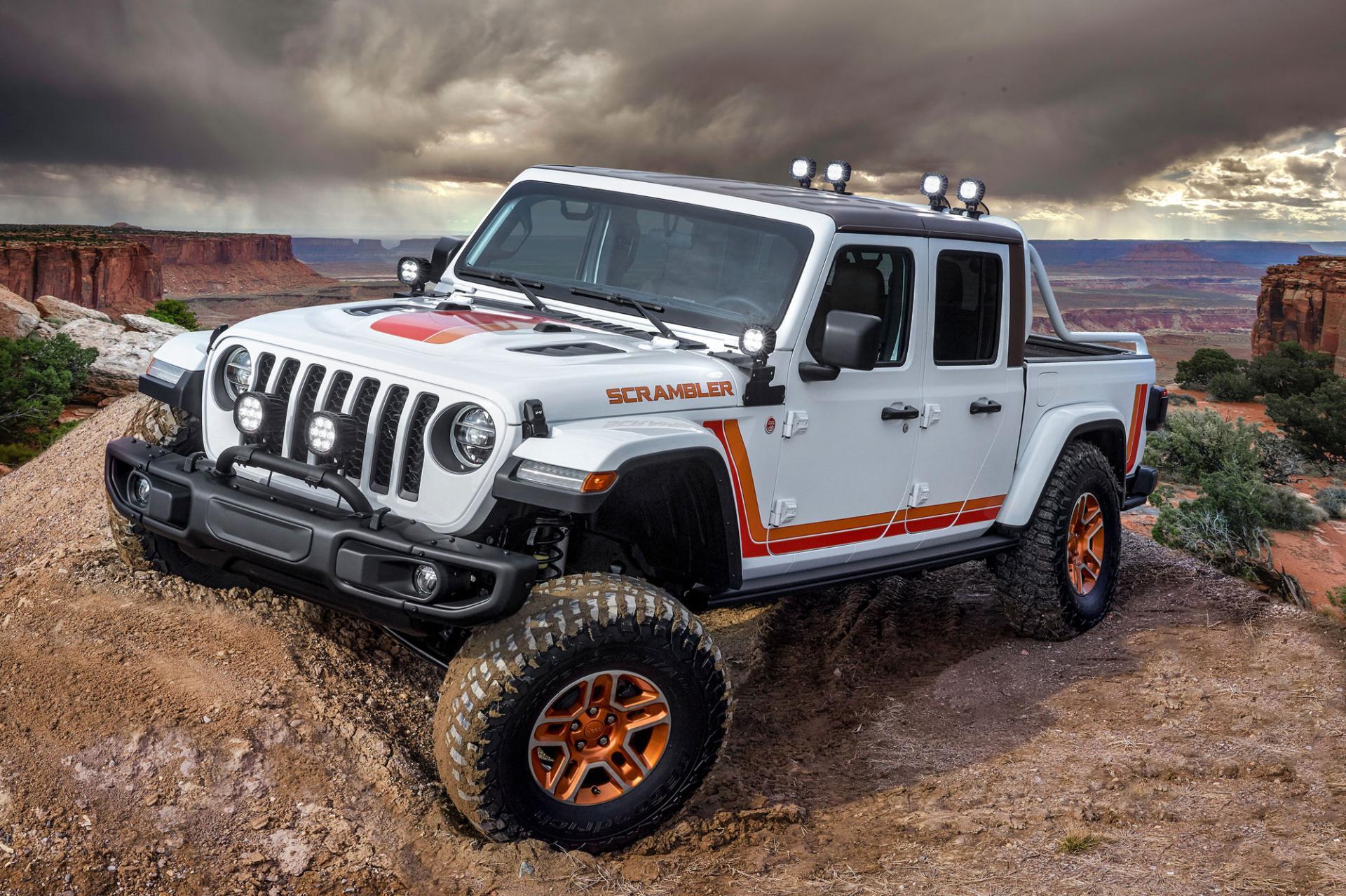 Jeep примет участие вПасхальном Сафари вМоабе с6 новыми концептами