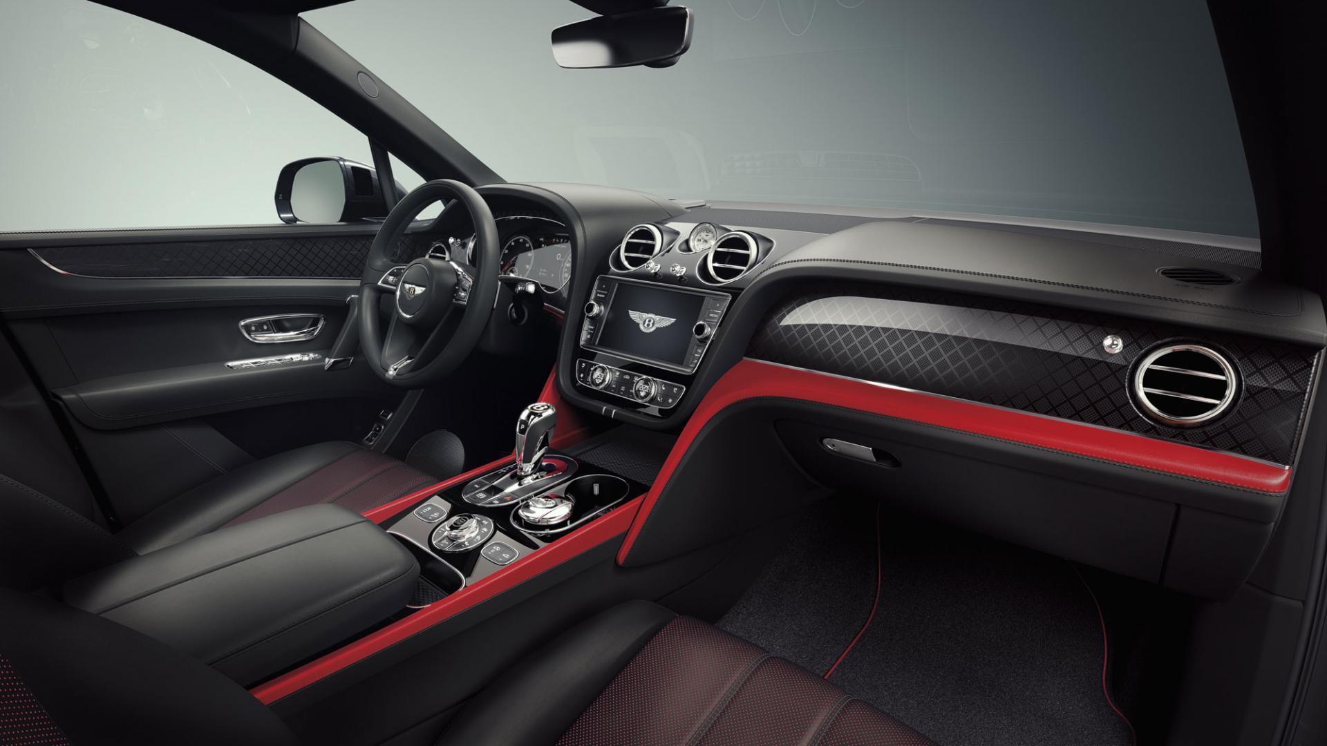 Шикарный внедорожник Bentley Bentayga V8 представлен официально