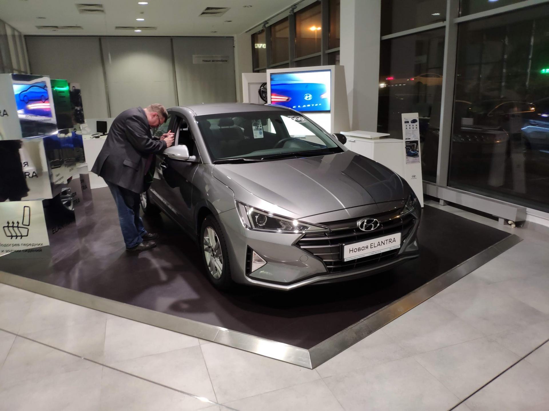 ВАвтоСпецЦентр Hyundai продемонстрировали модифицированную комплектацию Hyundai ELANTRA